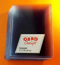 DISCOUNT 20x Card Concept Toploader Card Protection TCG MTG YUGIOH POKEMON