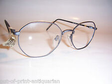 UNWORN Retro LIGHTWEIGHT Glasses Spectacle FRAME RRP £59.95 Angular Grey 00105