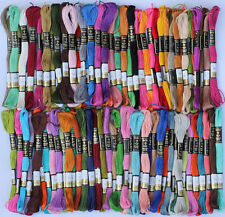 175 Anchor Cross Stitch Cotton Embroidery Thread Floss ( MIX COLOURS )
