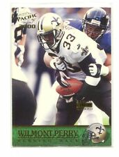 2000 Pacific Gold #232 Wilmont Perry/199 New Orleans Saints