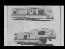 MALLARD 5th Wheel RV TRAILER MANUALs -530pgs with Operations Furnace & AC Repair