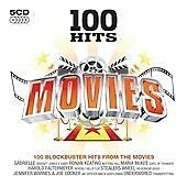 Various Artists : 100 Hits: Movies (5CDs) (2009) Free Postage