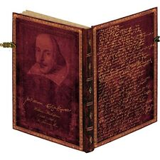 Paperblanks 400 Anniversary Shakespeare Special Edition Ultra Unlined Journal