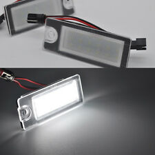 2x Error Free LED License Plate lights for Volvo S80 1999-2006 V70 xc70 s60 xc90