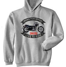 HONDA CMX 250 Rebel-Grigio Felpa Con Cappuccio-Tutte le taglie in magazzino