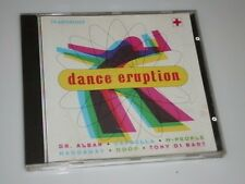 DANCE ERUPTION CD MIT DR ALBAN / CAPPELLA / M PEOPLE / HADDAWAY / LA BOUCHE