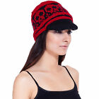 Warm Winter Fashion Women's Girl's New  Hand Knit Wool Snow Ski Hat Beanie-80304