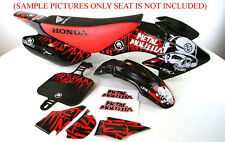 BODY PLASTIC & DECALS KIT HONDA XR50 CRF50 SSR SDG 107 110 125 PIT BIKE H DE59+