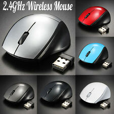 2.4G Optical Mouse Mice Cordless PC Computer Wireless Gaming Mouse +USB Receiver