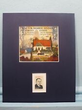 Herbert Hoover runs for President in 1928 vs. Al Smith honored by his own stamp
