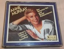 Anne Murray Her Greatest Hits and Finest Perfomances (3-CD Set, 1990) VGC