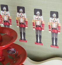WALLIES NUTCRACKER wall stickers 12 decals Holiday wall decor Christmas Soldier