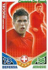 210 BENJAMIN HUGGEL SWITZERLAND SUISSE TEAM CARD ESTRELLAS MONDIALES 2010 TOPPS