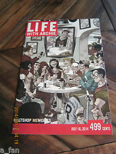 Life With Archie The Married Life # 36 D Ramon Perez Variant Sept 2014 Death