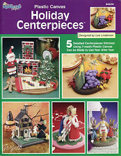 Holiday Centerpieces plastic canvas patterns OOP new