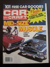 Car Craft Magazine December 1984 Mid Size Muscle Chevy Ford No Label MINT (X)