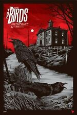 The Birds Reg Movie Poster by Ken Taylor Mondo Print MondoCon