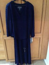 (1) New W/tags Women's Long Dress Studio Connection Size 8