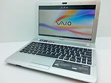 "Sony Vaio VPCYB33KX 11.6"" AMD E-450 @ 1.65GHz - 4GB - 320GB Windows 10 HD Laptop"