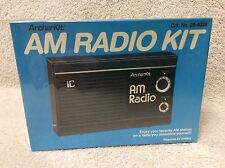 UNBUILT - Radio Shack Archerkit vintage AM transistor portable receiver kit set