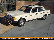 1982 Mercedes-Benz 300-Series 300D TURBODIESEL