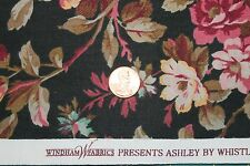 """ASHLEY"" 100% COTTON FLORAL QUILT FABRIC BY THE YARD FOR WINDHAM FABRIC 35307-1"