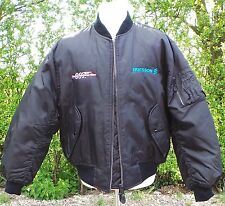 JAMES BOND : TOMORROW NEVER DIES : BOND APPROVED PUFFER JACKET - 1997.    (A007)