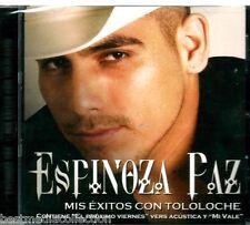 SEALED - Espinoza Paz CD NEW Mis Exitos Con Tololoche ALBUM Con 12 Canciones