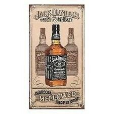 Jack Daniels Mellowed Charcoal Metal Sign Tin Plate- 30x15cm