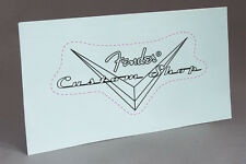 CUSTOM SHOP REPRO GUITAR PRECUT WATER SLIDE DECAL HEADSTOCK for RESTORATION
