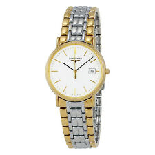 Longines Presence White Dial Two-tone Mens Watch L47202127