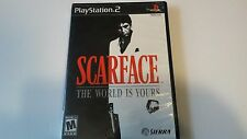 Scarface: The World is Yours Collector's Edition  Sony PlayStation 2  PS2 RARE