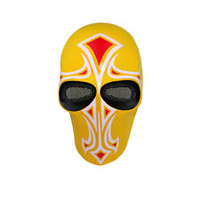 Mask Paintball Airsoft Full Face Protection Skull Mask Prop Halloween M00449