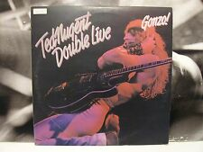 TED NUGENT - DOUBLE LIVE GONZO ! 2 LP GATEFOLD ITA 1978 1ST PRESSING EPC 88282