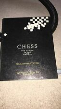 Chess - The Making Of - Hardback Book Rare - ABBA