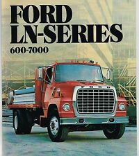 1982 FORD LN SERIES Truck Brochure / Catalog : 600,700,7000,Diesel,CAT