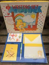 Rare Vintage 51 Item Care Bears Writing Set - Still Factory sealed
