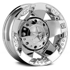 17 Inch Wheels Rim Dodge RAM Chevy GM 3500 Ford F 350 F350 Dually Chrome XD 4