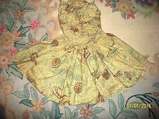 RARE VINTAGE MUSEUM QUALITY 40's CLAIRE MCCARDELL PINUP 2 PC BATHING SWIMSUIT S