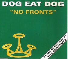 DOG EAT DOG w/ THE BEATNUTS No Fronts w/ REMIXES UK CD Single SEALED USA Seller