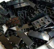 50 New Lego 2x4 black Bricks Part 3001 Builders Club Star Wars Friends City