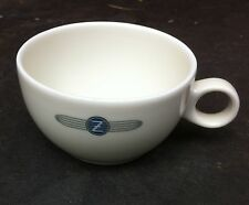 Vintage DZR Zeppelin Demi-Tass China Coffee Cup Schonwald - Blue Airship Logo
