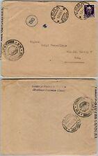 RSI-EFFIGE SCOPERTA 50c(251) isolato su busta ERBA- Roma 13.12.1943