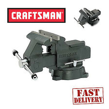 NEW Craftsman 6 in Bench Vise Clamp Press Machine Repair 6 inch