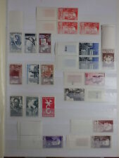 lot 43 TIMBRES FRANCE NEUFS ANNEES 1940/50 */**  MNH/NH voir photos see pict.