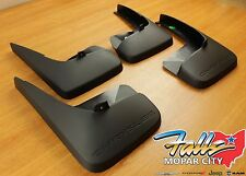 2011-2016 Chrysler Town & Country Deluxe Molded Splash Guards Mud Flaps OEM
