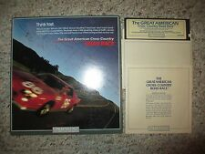 The Great American Cross-Country Road Race (Commodore 64, 1985) Complete in Box