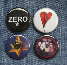 "4 1"" Smashing Pumpkins Zero Gish Mellon Collie pinback badges buttons"