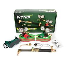 Victor Medalist 250 Torch Kit Set With Regulators CA411-3 WH411C G250, 0384-2540