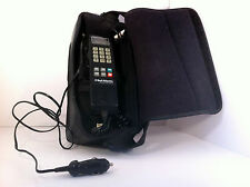 Motorola Vintage Car Phone 1984 Bell Atlantic With Case-Battery-Car Charger